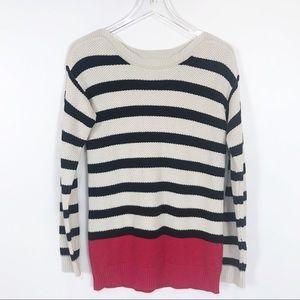 QVC Susan Graver striped sweater